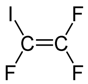 Iodotrifluoroethylene - Image: Iodotrifluoroethylen e