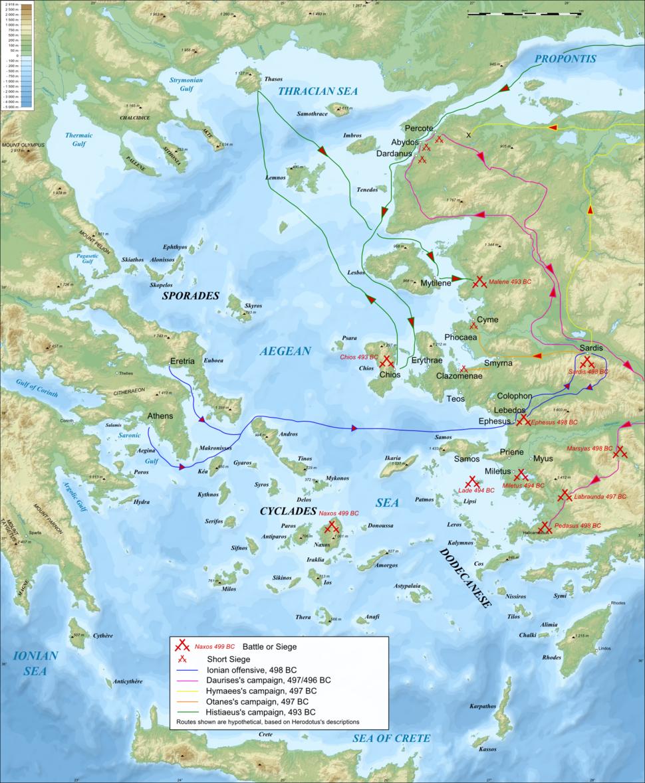 Ionian Revolt Campaign Map