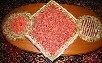 Persian handicrafts - Image: Iranian Termeh