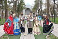 Iranian family,gathered together wearing traditional clothes - Nishapur - Nowruz2014.JPG