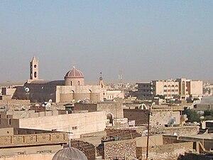 Bakhdida - A view of Bakhdida