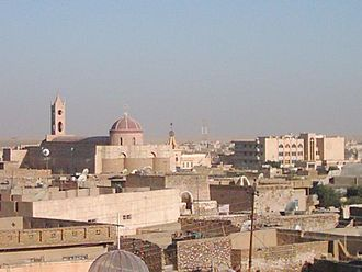 Assyrian homeland - The Assyrian city of Bakhdida, in the Nineveh Plains
