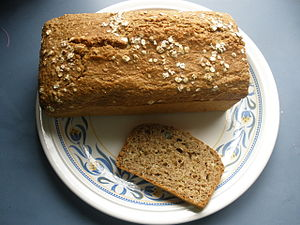 Soda bread - Home-made Irish brown soda bread