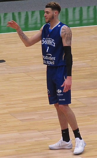 Isaïa Cordinier - Cordinier with Antibes, in 2017.