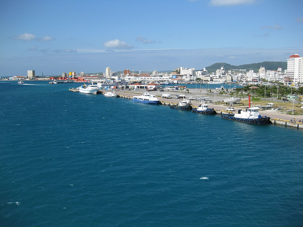 Ishigaki Port from Southern Gate Bridge