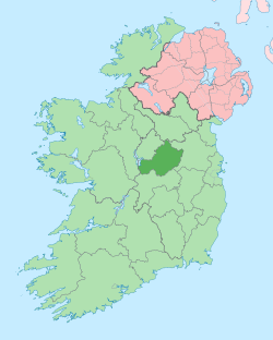 Island of Ireland location map Westmeath.svg