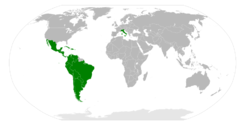 Location of Italy–Latin America Conference