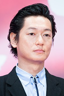 "Iura Arata from ""Waiting for the Moon"" at Opening Ceremony of the Tokyo International Film Festival 2017 (39305078495).jpg"