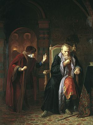 Agrippina Fedorovna Chelyadnina - Ivan the Terrible and Agrippina, by Carl Wenig