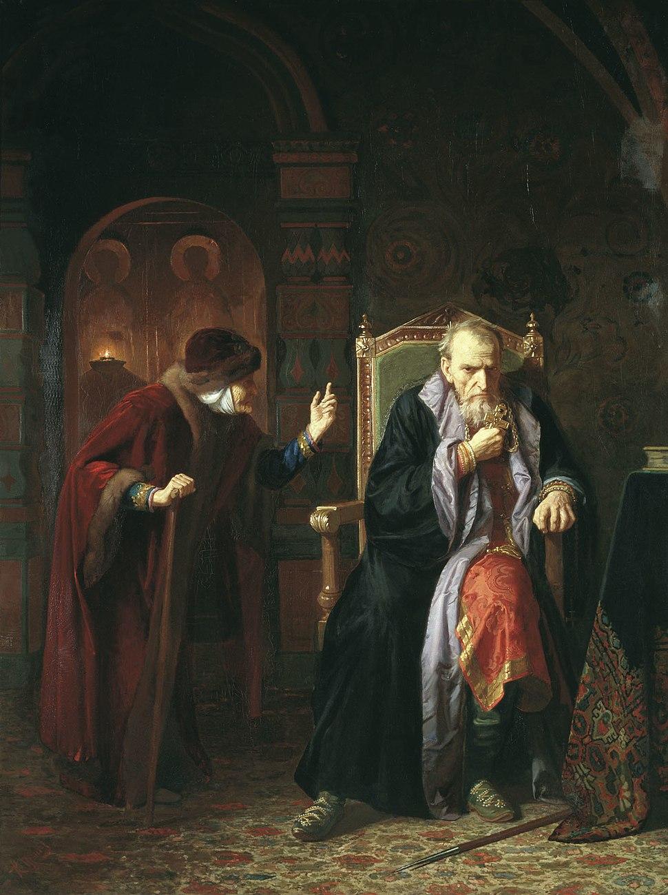 Iwan Gro%C5%BAny i jego niania (1886)