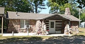 National Register of Historic Places listings in Platte County, Nebraska - Image: Izaak Walton (Columbus, Nebraska) from E 2