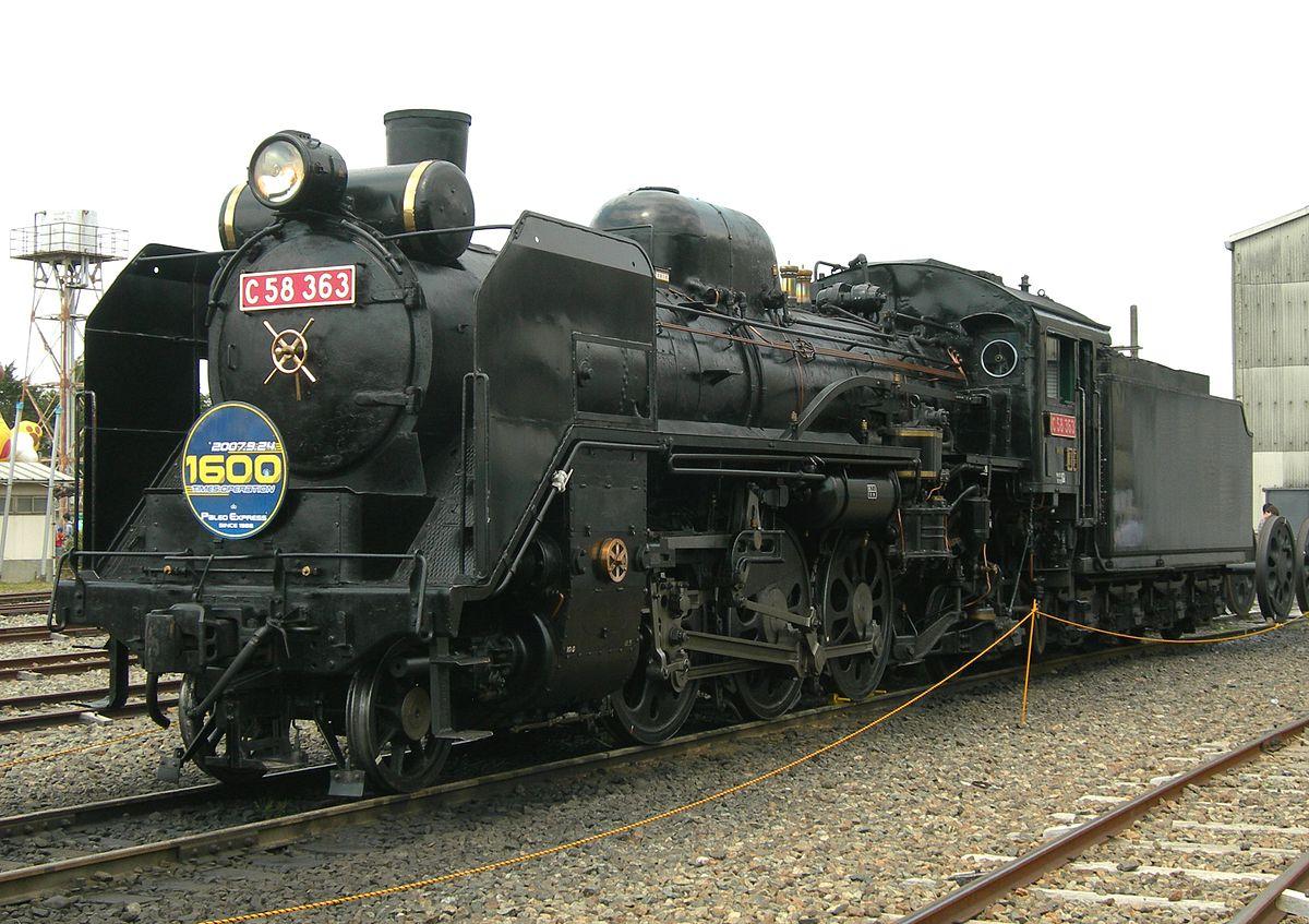 JNR Class C58