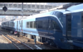 JRE E261 delivery from Hitachi Kasado Works at Hiroshima Station 2019-11-06 2.png