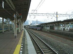 Tsuruga Station - Tracks