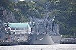 JS Tokiwa(AOE-423) left front view at JMSDF Yokosuka Naval Base April 30, 2018.jpg