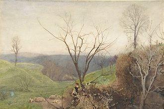 John William North - Spring, watercolour, Metropolitan Museum of Art, New York.