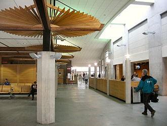 North Bay/Jack Garland Airport - Jack Garland terminal interior