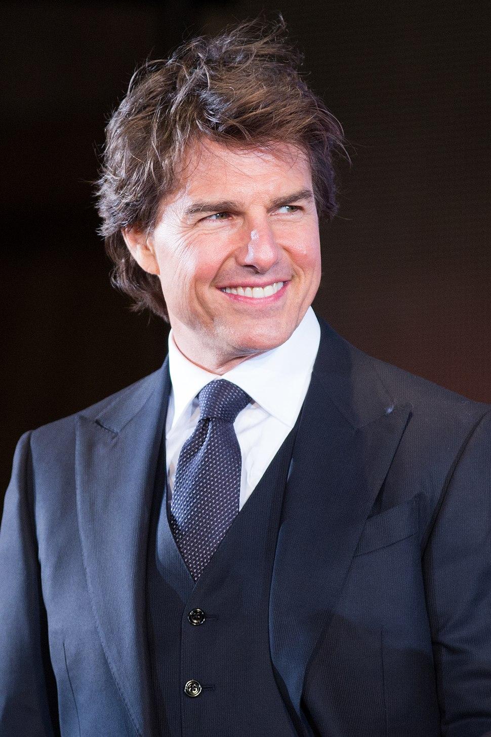 Jack Reacher- Never Go Back Japan Premiere Red Carpet- Tom Cruise (35338493152) (cropped)