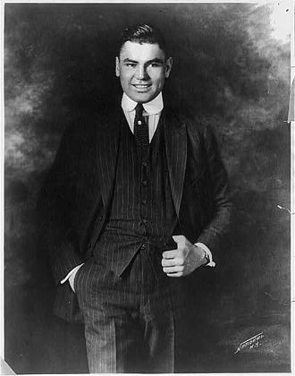 Jack Dempsey - Portrait of Dempsey (date unknown)