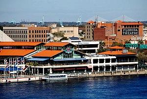 Jacksonville Water Taxi - Image: Jacksonville Landing 2010 02 j