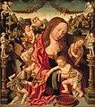Jacob van Amsterdam - Maria met Kind en musicerende engelen - 3170 (OK) - Museum Boijmans Van Beuningen.jpg