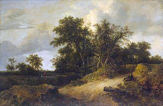 Jacob van Ruisdael - Dune Landscape (1646)