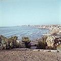 Jaffa Gezicht op een deel van de stad en de baai, Bestanddeelnr 255-9370.jpg
