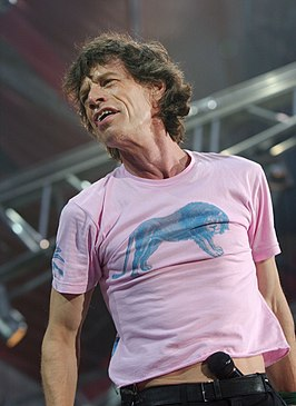Mick Jagger in Italië, 2003