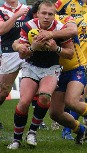 Jake Friend - Friend playing for the Roosters in 2008