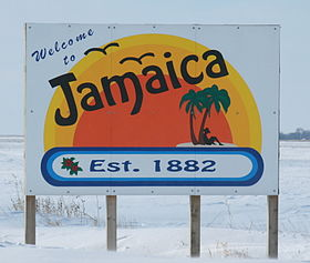 خط الأفق لـ Jamaica, Iowa