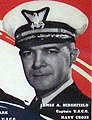James A. Hirshfield, Captain USCG, Navy Cross, Courageous Coast Guardsmen poster (cropped).jpg