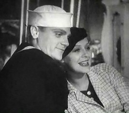 James Cagney en Gloria Stuart in Here Comes the Navy