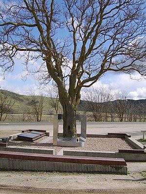 Cholame, California - Image: James Dean Memorial