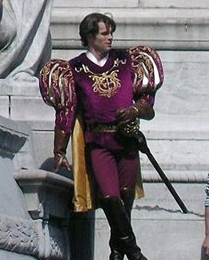 James Marsden - Marsden on the set of Enchanted in 2006