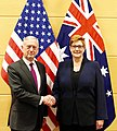 James Mattis with Marise Payne - 2018 (25390870227).jpg