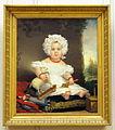 Jan Adam Kruseman (1804-1862), Portret van Catharina Elisabeth Rente Linsen (1830-1890), 1831, Olieverf op doek.JPG