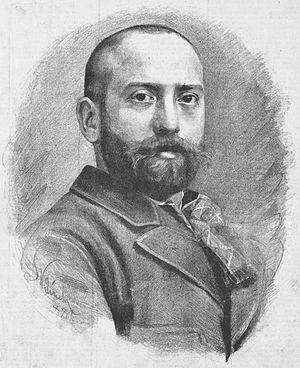 Vojtěch Hynais - 1881 portrait by Jan Vilímek.