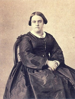 Princess Januária of Brazil - Princess Januária photographed in 1865