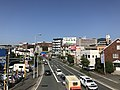 Japan National Route 495 from footbridge of Kasumigaoka 1-Chome 2.jpg