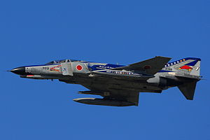 302nd Tactical Fighter Squadron (JASDF) - Image: Japan air self defense force Mitsubishi F 4EJ Kai Phantom II 40th anniv. 302SQ RJAH