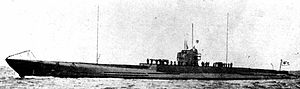 Japanese submarine I-1 (1924) - Image: Japanese submarine I 1