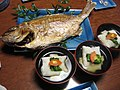 Japanese zoni and roasted fish.jpg