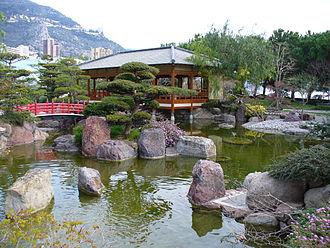 Japanese Garden, Monaco - Image: Jardinmonaco 3bis