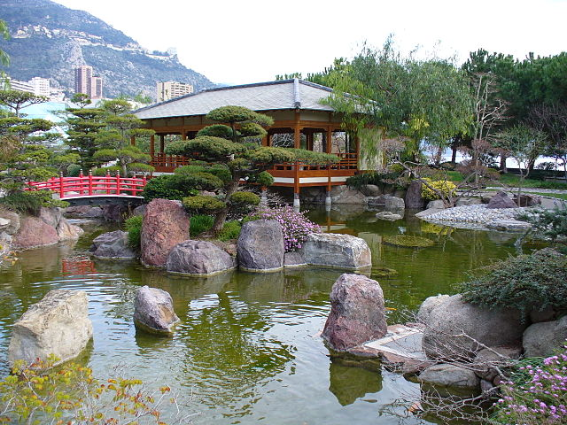 Jardin japonais attraction monaco france guide de voyage for Jardin japones de santiago