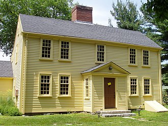Arlington, Massachusetts - The Jason Russell House.