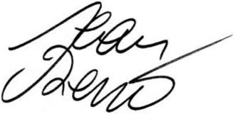 Jean Reno - Image: Jean Reno signature 1