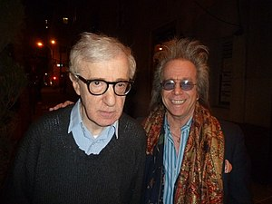 Jeffrey L. Gurian - Jeff Gurian with Woody Allen at the Make Em Laugh book release