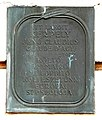 Jenő Claudius Kerpely plaque Sopron Várkerület65.jpg