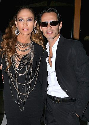 English: Jennifer Lopez and Marc Anthony