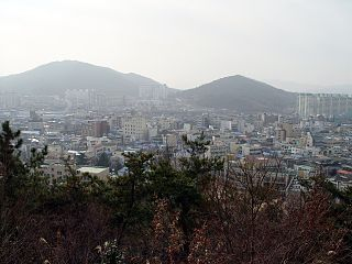 Jeongeup Municipal City in Honam, South Korea